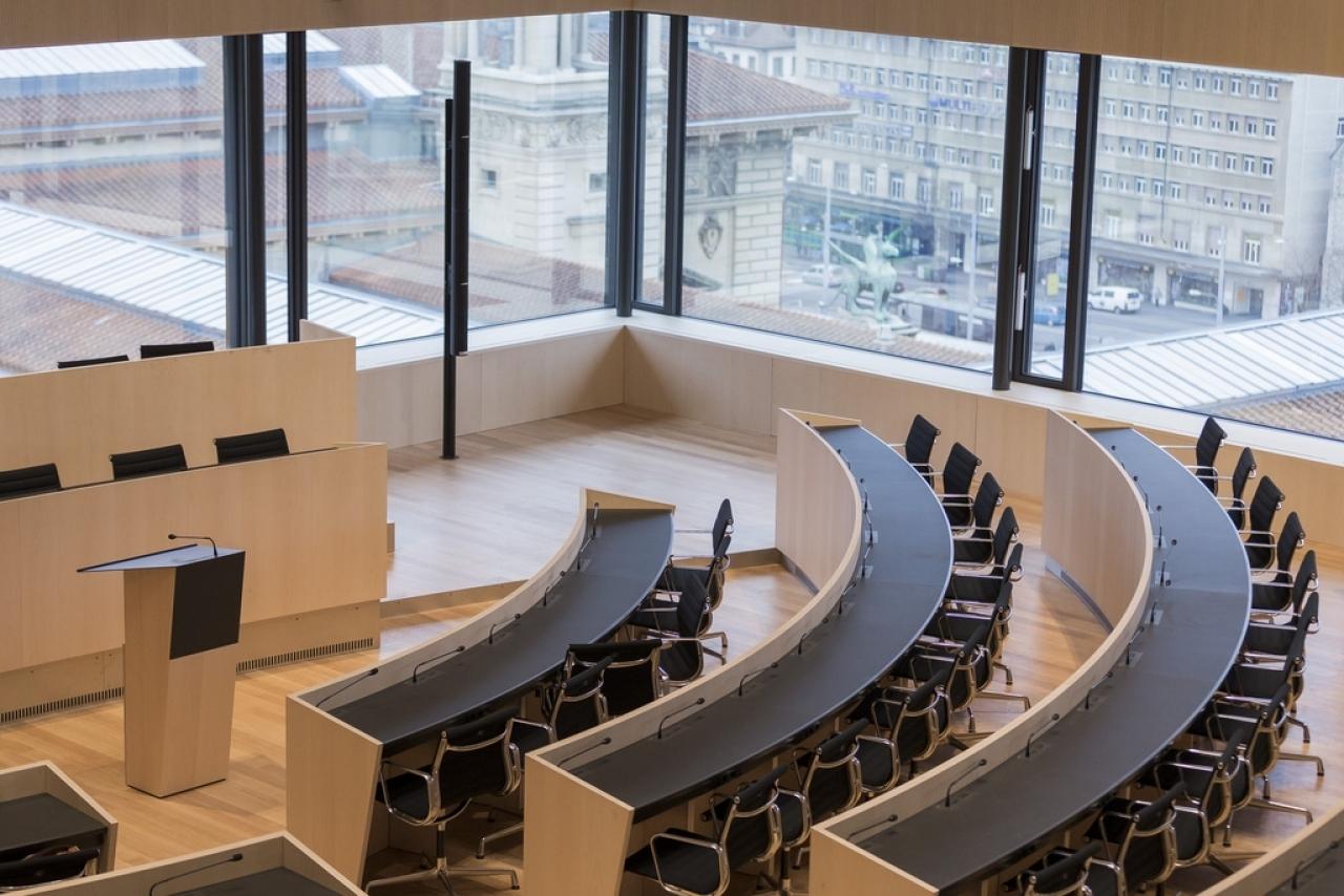 Ticinonline inaugurata la nuova sede del parlamento vodese for Sede del parlamento