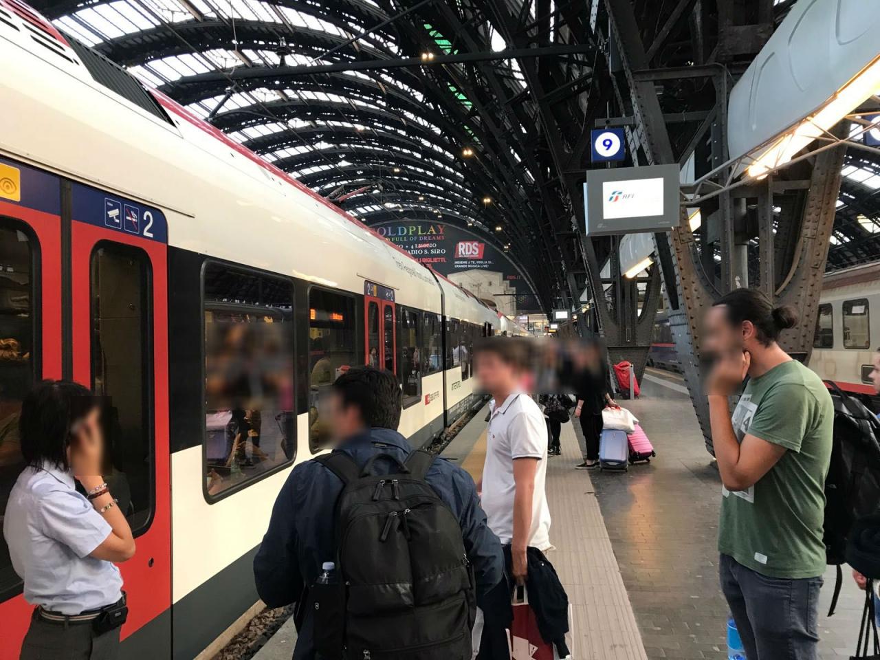 Tilo troppo pieno, ticinesi restano a piedi a Milano