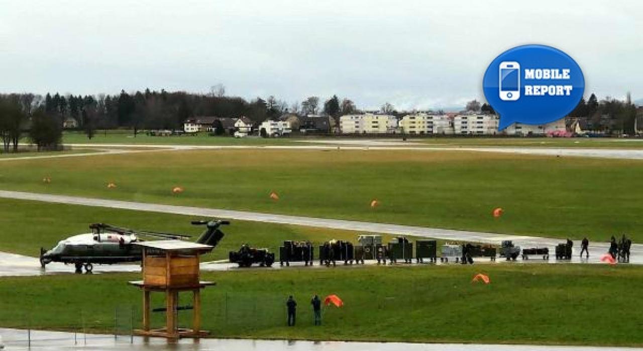 Elicottero Ch : Ticinonline l elicottero di trump è arrivato in svizzera