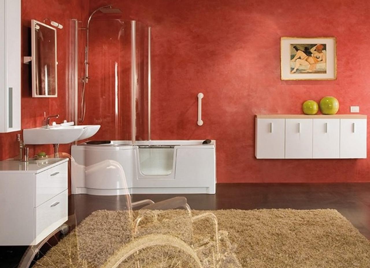 Modifica Vasca Da Bagno Per Anziani Prezzi : Ticinonline vasche per disabili e anziani come scegliere la
