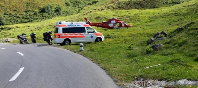 3aa0e67cf0 Centauro cade e perde conoscenza sull Oberalp - Ticinonline