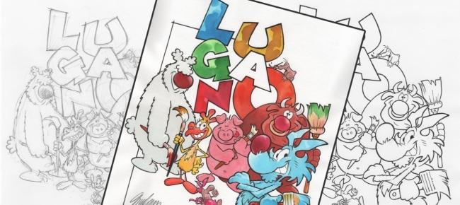 9658b27aac02 Un fumetto di Lupo Alberto ispirato a Lugano Città del Gusto - Ticinonline