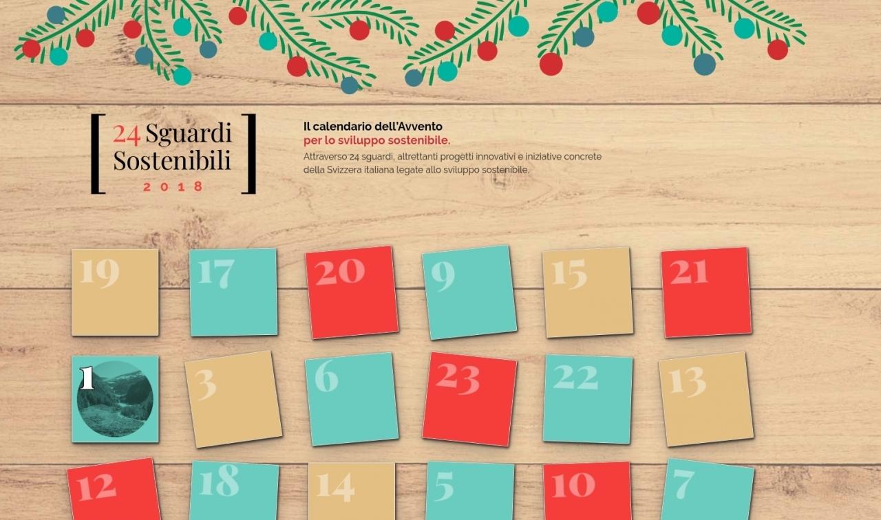 Calendario Svizzero.Calendario Dell Avvento Sostenibile Con Il Dt Ticinonline