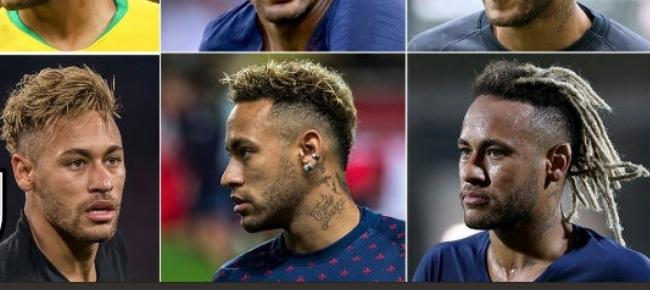 Taglio Di Capelli Neymar Idea Di Immagine Del Giocatore