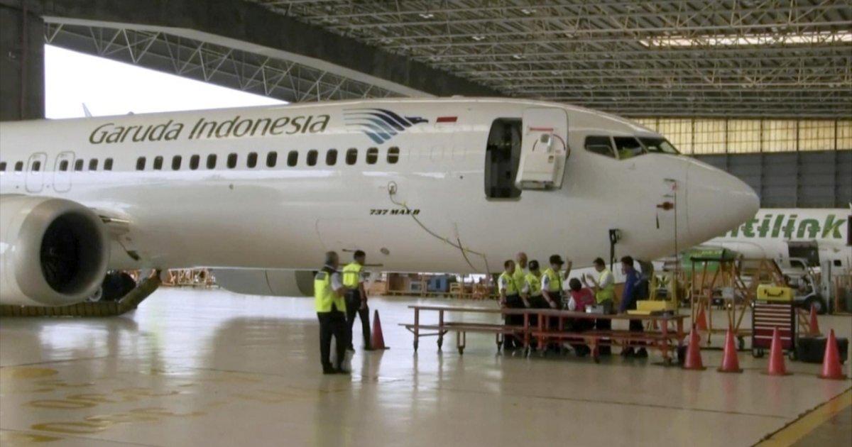 Aereo Caduto Garuda Cancella L Ordine Di 49 Boeing 737 Max Ticinonline