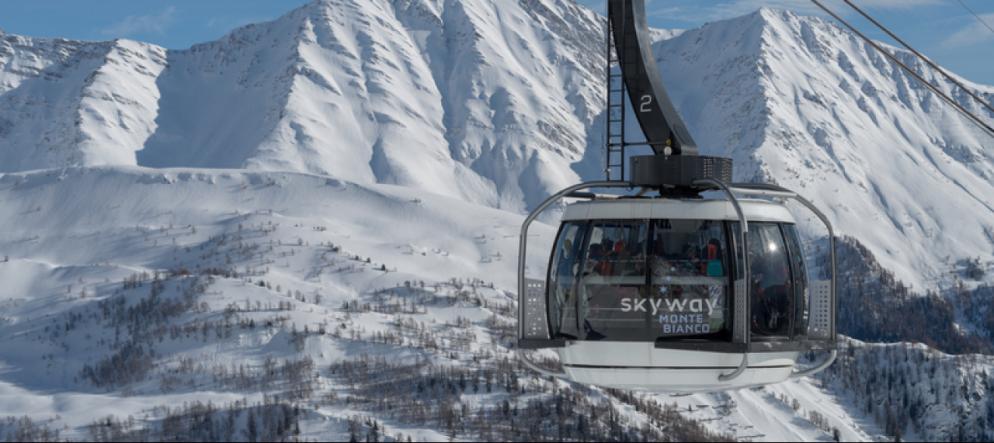 Skyway Monte Bianco L Ottava Meraviglia Del Mondo Ticinonline