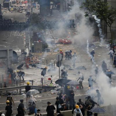 Risultati immagini per hong kong rivolta