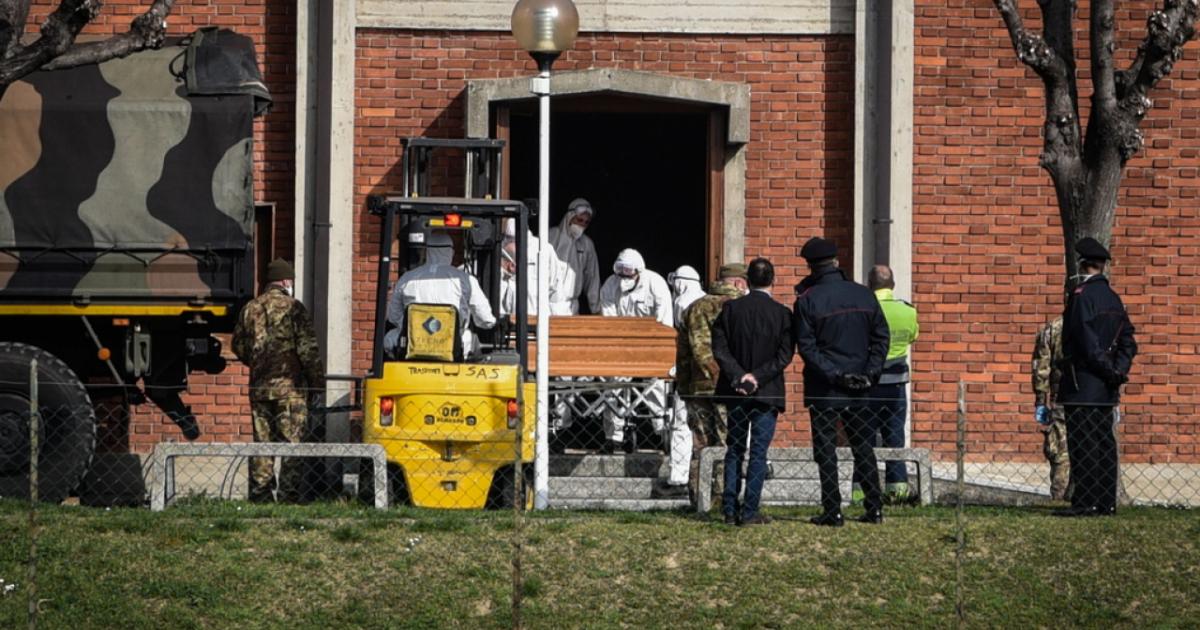 A Bergamo il record di morti in Europa