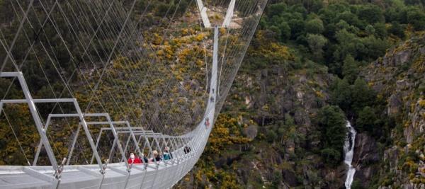 In Portogallo è stato inaugurato il più lungo ponte sospeso del mondo