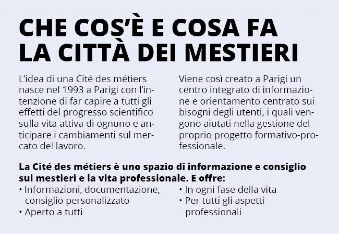 Mestieri Con La L.La Citta Dei Mestieri In Ticino Grande Possibilita O
