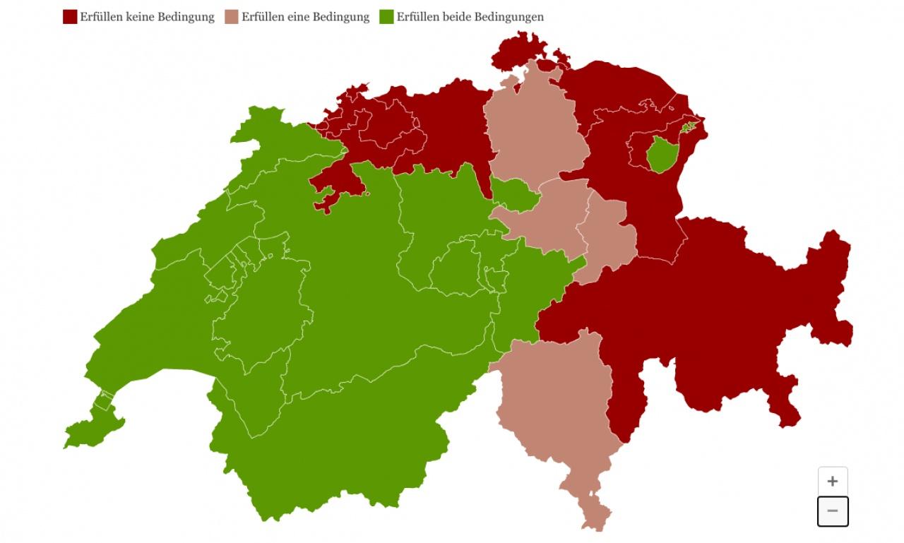 Cartina Canton Ticino Svizzera.Il Graben Dei Ristoranti Ecco La Mappa Ticinonline